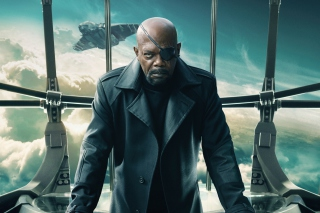 Nick Fury Captain America The Winter Soldier - Obrázkek zdarma pro Android 800x1280