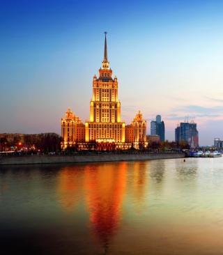Beautiful Moscow City - Obrázkek zdarma pro iPhone 5