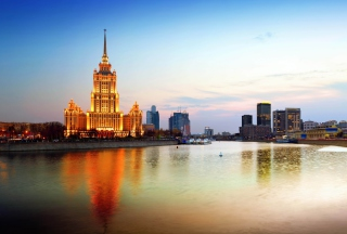Beautiful Moscow City - Obrázkek zdarma pro Widescreen Desktop PC 1920x1080 Full HD