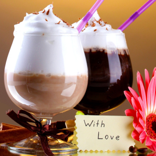 Foam Chocolate Drinks - Obrázkek zdarma pro 320x320