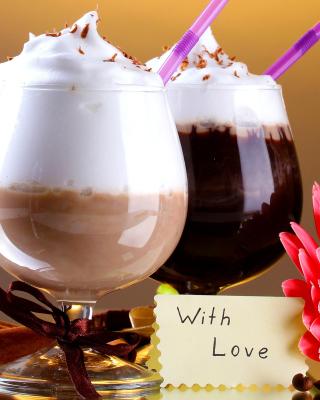 Foam Chocolate Drinks - Obrázkek zdarma pro Nokia C1-02