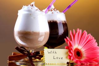 Foam Chocolate Drinks - Obrázkek zdarma pro Nokia X2-01