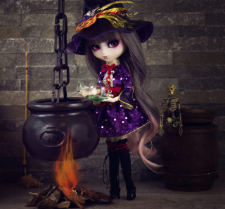 Witch Doll - Obrázkek zdarma pro 208x208