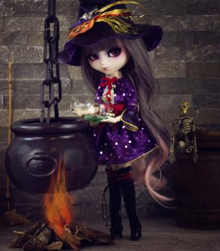 Witch Doll - Obrázkek zdarma pro Nokia C-Series