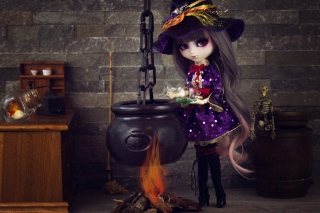 Witch Doll - Obrázkek zdarma pro Samsung Galaxy S6 Active