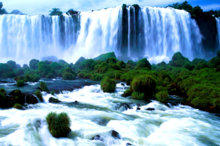 Iguazu Falls Wallpaper for Android, iPhone and iPad