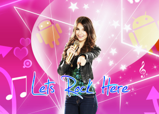 Lets Rock Here Background for Android, iPhone and iPad