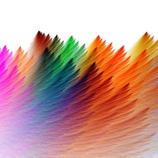 Feathers - Obrázkek zdarma pro iPad mini 2