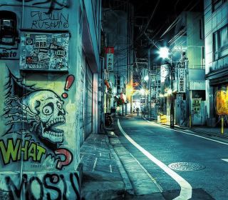 Street Graffiti - Obrázkek zdarma pro 208x208
