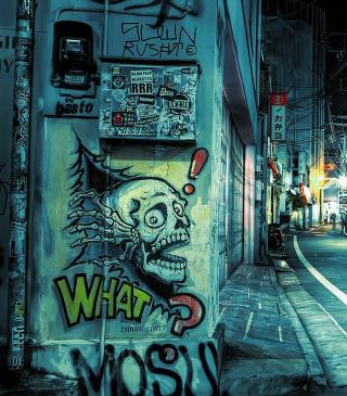 Street Graffiti - Obrázkek zdarma pro Nokia Asha 501