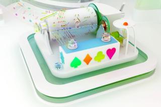 Musical Box - Obrázkek zdarma pro Motorola DROID