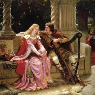 Edmund Leighton Romanticism English Painter - Obrázkek zdarma pro iPad mini