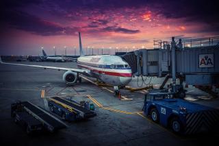 American Airlines Airplane - Fondos de pantalla gratis para LG E400 Optimus L3