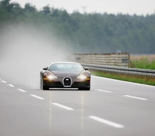Black Bugatti - Obrázkek zdarma pro iPad mini 2