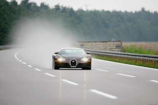 Black Bugatti - Obrázkek zdarma pro Fullscreen Desktop 1600x1200