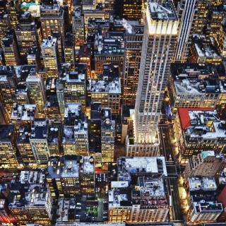 Big City Lights - Obrázkek zdarma pro iPad 3