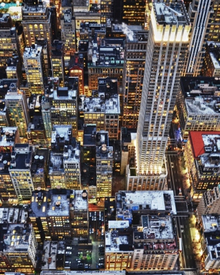 Big City Lights - Obrázkek zdarma pro Nokia C-5 5MP