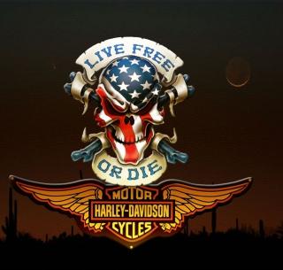 Harley Davidson - Obrázkek zdarma pro 320x320