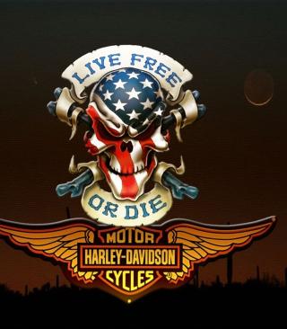 Harley Davidson - Obrázkek zdarma pro 320x480