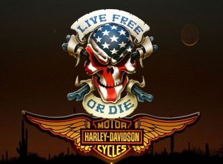 Harley Davidson - Obrázkek zdarma pro Motorola DROID