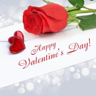 Valentines Day Greetings Card - Obrázkek zdarma pro iPad Air