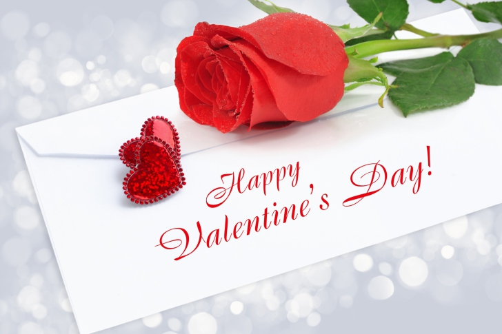 Valentines Day Greetings Card wallpaper