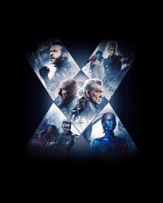 X-Men - Obrázkek zdarma pro Nokia X2-02