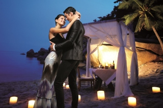 Romantic Dinner Wallpaper for Android, iPhone and iPad