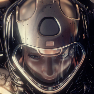 Astronaut in Space Suit - Obrázkek zdarma pro iPad mini
