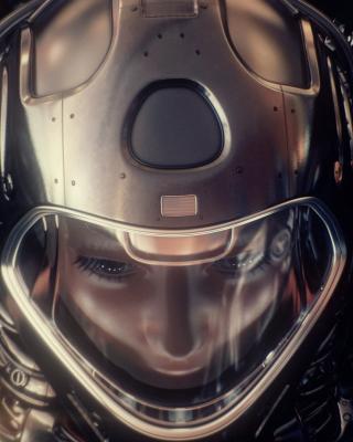 Astronaut in Space Suit - Obrázkek zdarma pro Nokia Asha 306