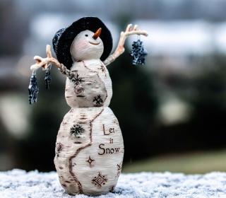 Let It Snow - Obrázkek zdarma pro 128x128
