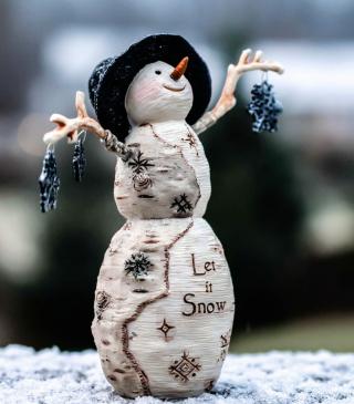 Let It Snow - Obrázkek zdarma pro 240x320