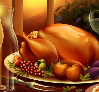 Thanksgiving Feast - Obrázkek zdarma pro iPad mini 2