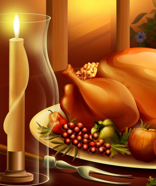 Thanksgiving Feast - Obrázkek zdarma pro Nokia Asha 300