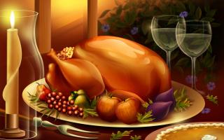 Thanksgiving Feast - Obrázkek zdarma pro Widescreen Desktop PC 1600x900