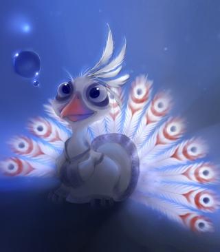 Cute Peacock - Obrázkek zdarma pro Nokia C5-05