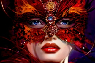 Fantasy Woman Background for Android, iPhone and iPad