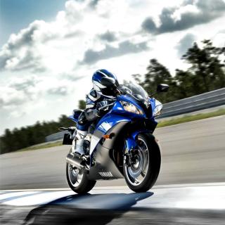 Yamaha R6 Superbike - Obrázkek zdarma pro 128x128