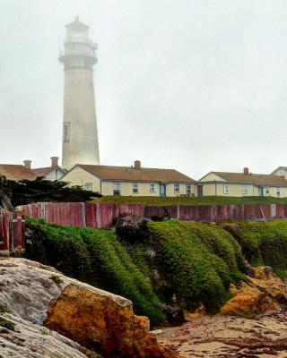 Lighthouse in Spain - Obrázkek zdarma pro 480x640