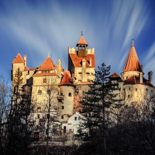 Castle Bran Dracula - Obrázkek zdarma pro 2048x2048