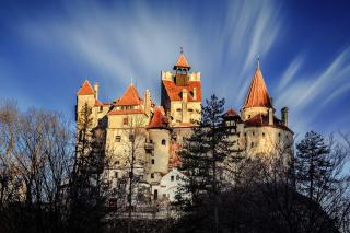 Castle Bran Dracula - Obrázkek zdarma pro 1024x600