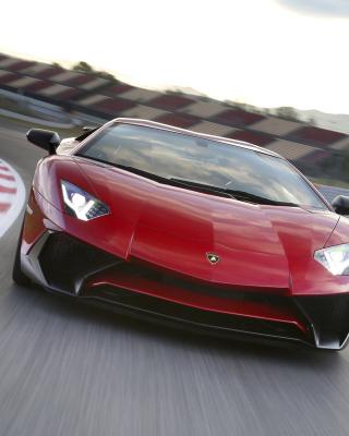 Lamborghini Aventador LP 750 4 Superveloce - Obrázkek zdarma pro 240x400