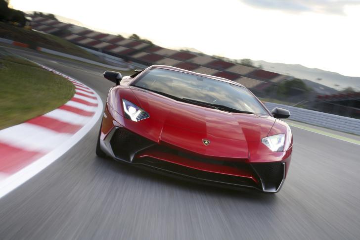 Lamborghini Aventador LP 750 4 Superveloce wallpaper