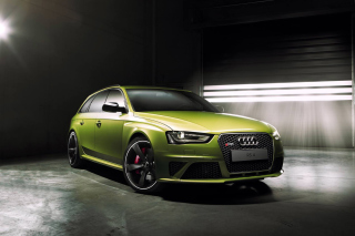 Audi RS4 Avant 2015 Background for Android, iPhone and iPad