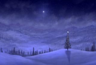 Christmas Tree Background for Android, iPhone and iPad