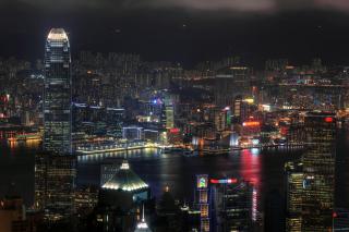 Hong Kong Night Tour - Obrázkek zdarma pro Samsung Galaxy Note 2 N7100