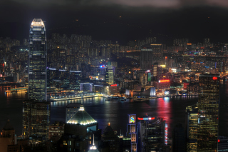 Hong Kong Night Tour - Obrázkek zdarma pro Samsung Galaxy Note 3