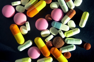 Medicine Pharmacy Pills Wallpaper for Android, iPhone and iPad