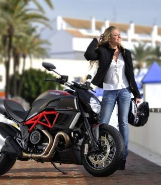 Ducati - Obrázkek zdarma pro 128x160