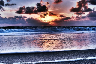 Sylt Beach Background for Android, iPhone and iPad
